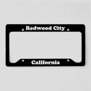Redwood City CA License Plate Holder