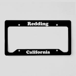 Redding CA License Plate Holder