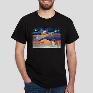 Xmas Star/Papillon Dark T-Shirt