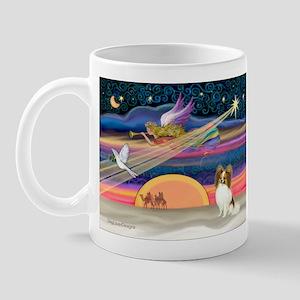 Xmas Star/Papillon Mug