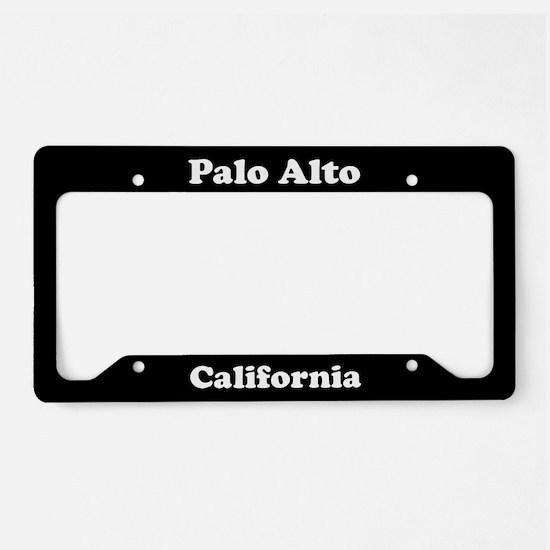 Palo Alto CA License Plate Holder