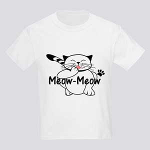 Meow-Meow the happy cat grooming T-Shirt