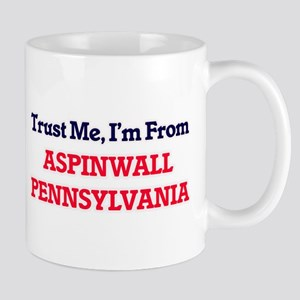 Trust Me, I'm from Aspinwall Pennsylvania Mugs