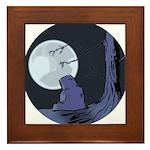 Light of the Moon #2 Framed Tile