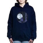 Light of the Moon #2 Women's Hooded Sweatshirt