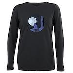 Light of the Moon #2 Plus Size Long Sleeve Tee