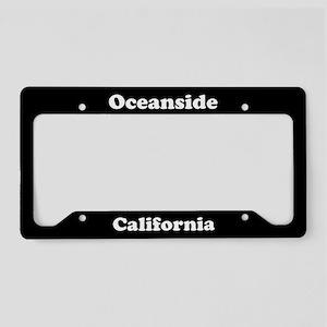 Oceanside CA License Plate Holder