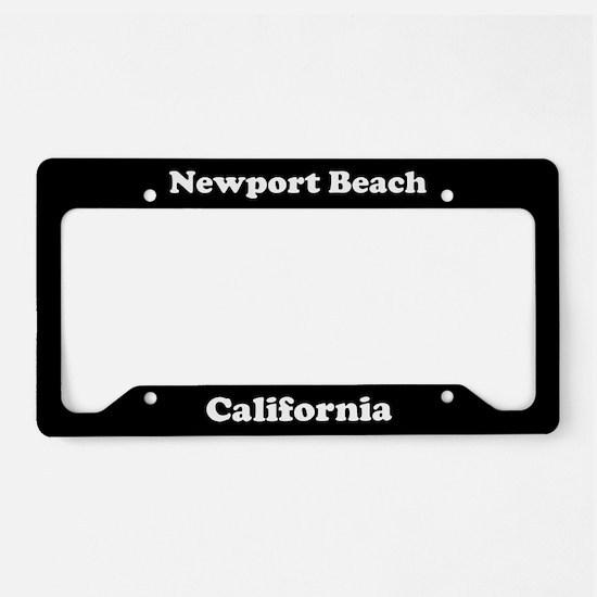 Newport Beach CA License Plate Holder