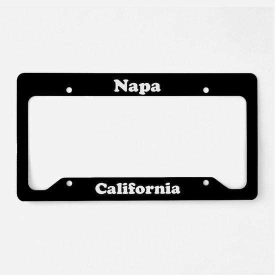Napa CA License Plate Holder