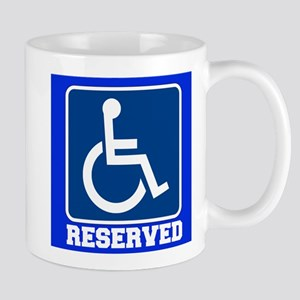 Handicapped Reserved Mugs