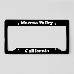 Morena Valley CA License Plate Holder