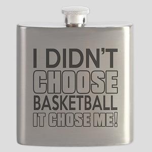 Basketball It Chose Me Flask