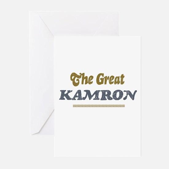 Kamron Greeting Cards (Pk of 10)