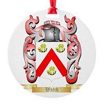 Watch Round Ornament