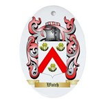 Watch Oval Ornament