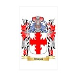 Waszak Sticker (Rectangle 10 pk)