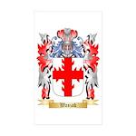 Waszak Sticker (Rectangle 50 pk)