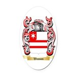 Wasson Oval Car Magnet