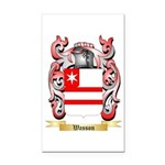 Wasson Rectangle Car Magnet