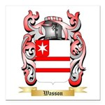 Wasson Square Car Magnet 3