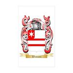 Wasson Sticker (Rectangle 50 pk)