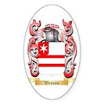 Wasson Sticker (Oval 50 pk)