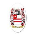 Wasson 35x21 Oval Wall Decal