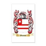 Wasson 20x12 Wall Decal
