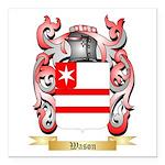 Wason Square Car Magnet 3
