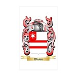 Wason Sticker (Rectangle 50 pk)