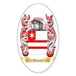 Wason Sticker (Oval 50 pk)
