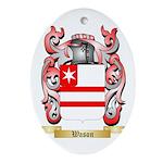 Wason Oval Ornament