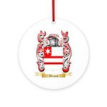 Wason Round Ornament
