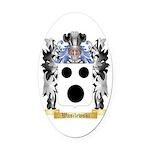Wasilewski Oval Car Magnet