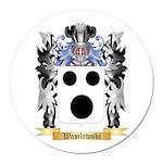 Wasilewski Round Car Magnet