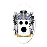Wasielewski Oval Car Magnet
