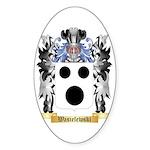 Wasielewski Sticker (Oval 10 pk)