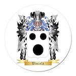 Wasiela Round Car Magnet