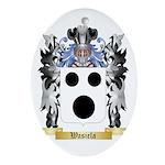Wasiela Oval Ornament
