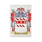 Washburn Rectangle Magnet (100 pack)