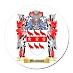 Washburn Round Car Magnet
