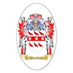 Washburn Sticker (Oval)