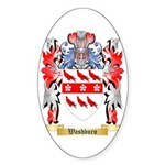 Washburn Sticker (Oval 10 pk)