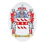Washburn Oval Ornament