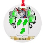 Warwick Round Ornament