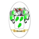 Warwick Sticker (Oval 10 pk)