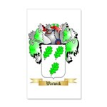 Warwick 35x21 Wall Decal