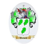 Warwick Oval Ornament