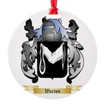 Warton Round Ornament