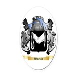 Warton Oval Car Magnet